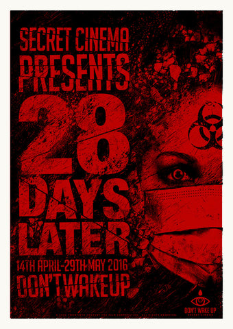 Red 28 Days Later Print - April 2016