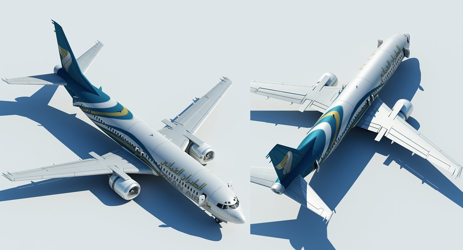 737 Oman Air - WireCASE