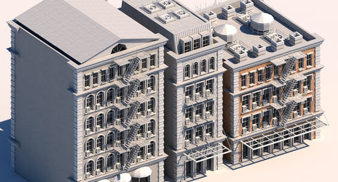 Commercial Buildings 101 3D model