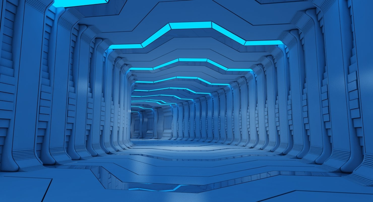 Futuristic Tunnel 10 - WireCASE