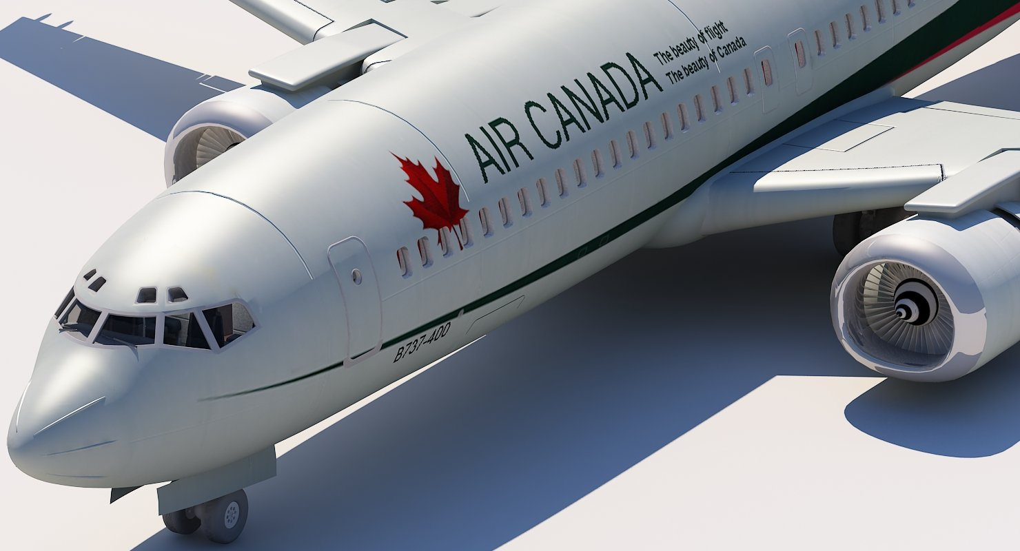 737 400 Air Canada - WireCASE