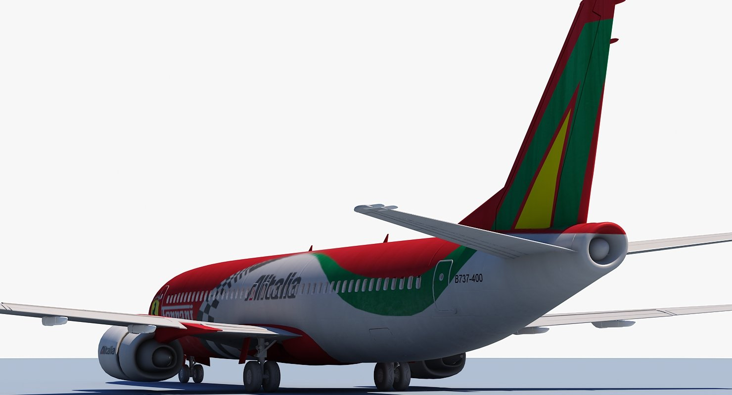 737 Air Alitalia - WireCASE