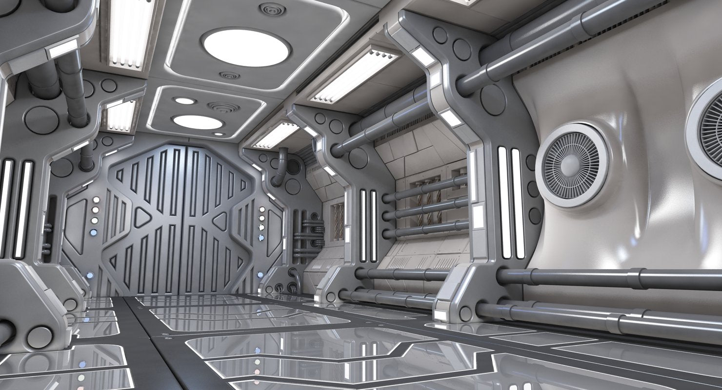 Sci Fi Interior 05 - WireCASE