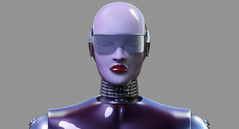 Female Robot 8 - WireCASE