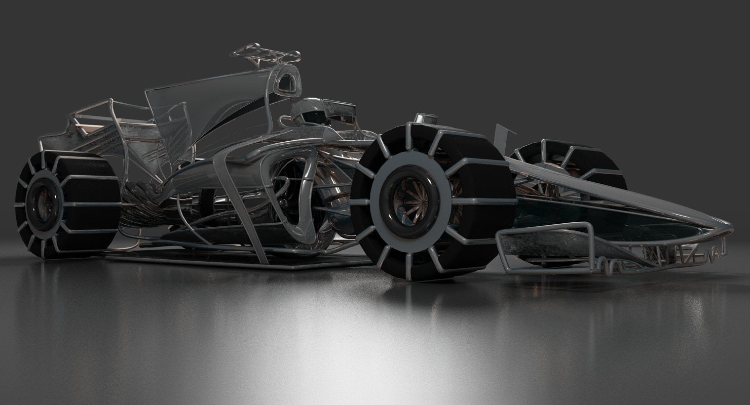 Formula 1 Car Concept - WireCASE