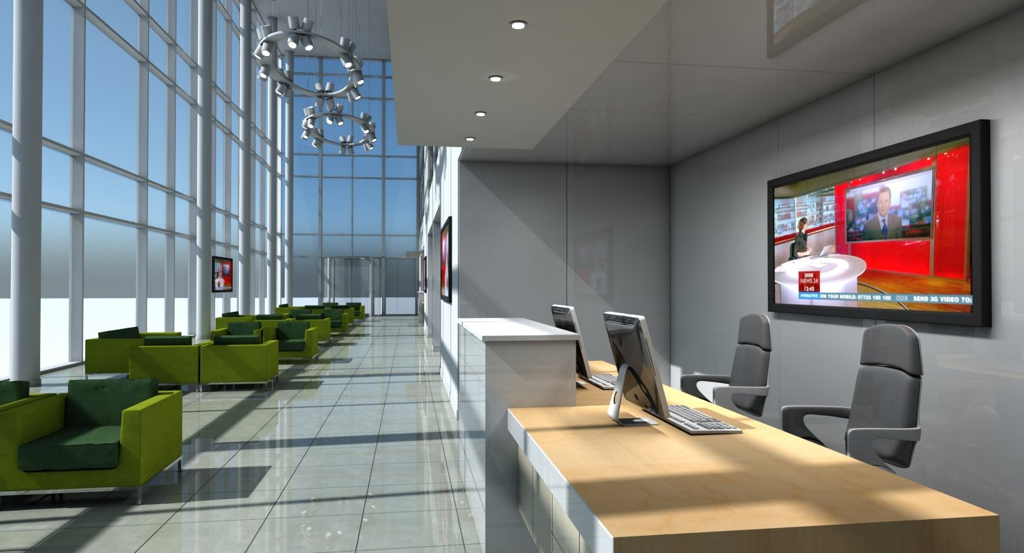 Office Entrance Reception - WireCASE