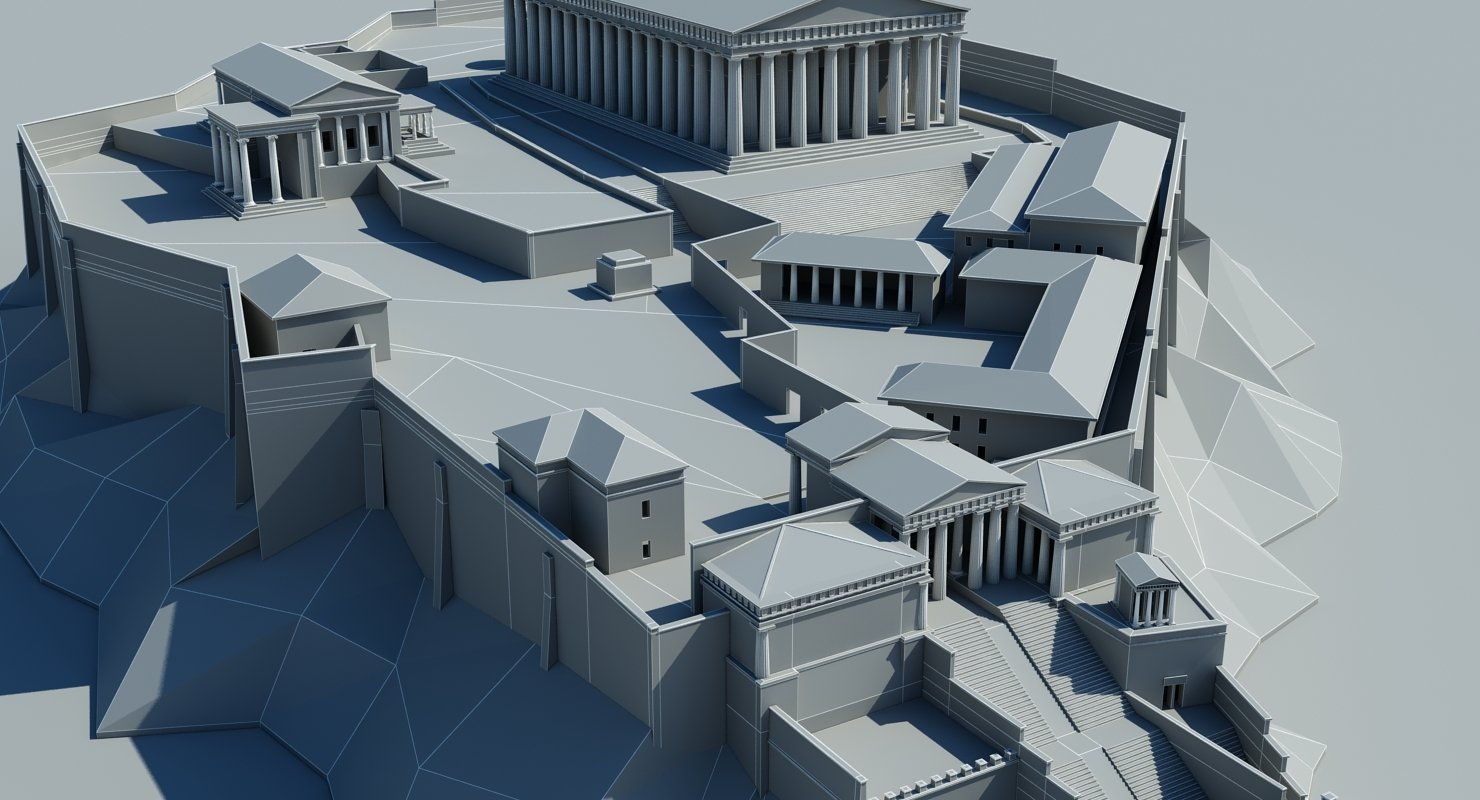 Acropolis 3D Model - WireCASE