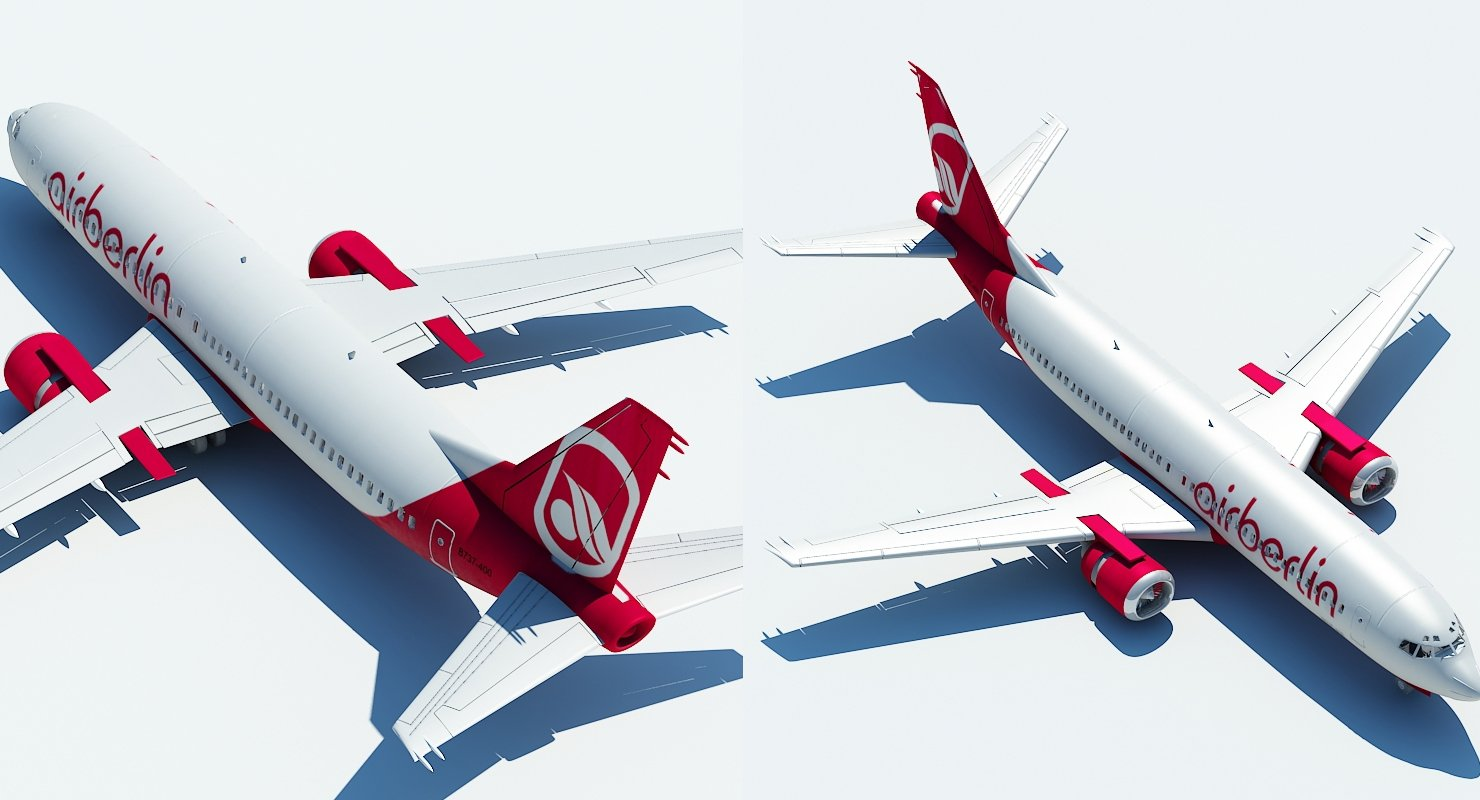 737 Air Berlin - WireCASE