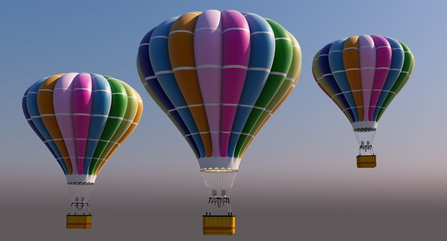 Hot Air Balloon - WireCASE