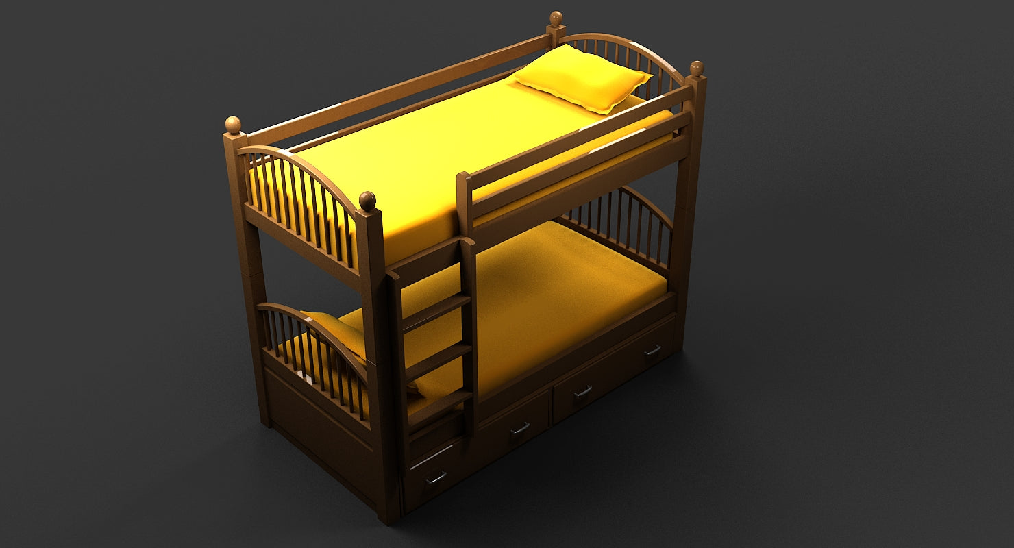 3D Bed 011 - WireCASE