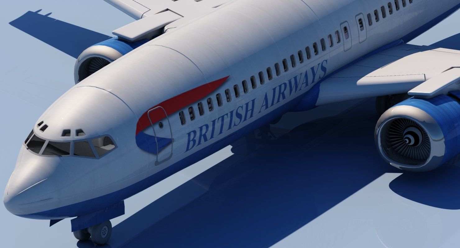 737 Air British Airways - WireCASE
