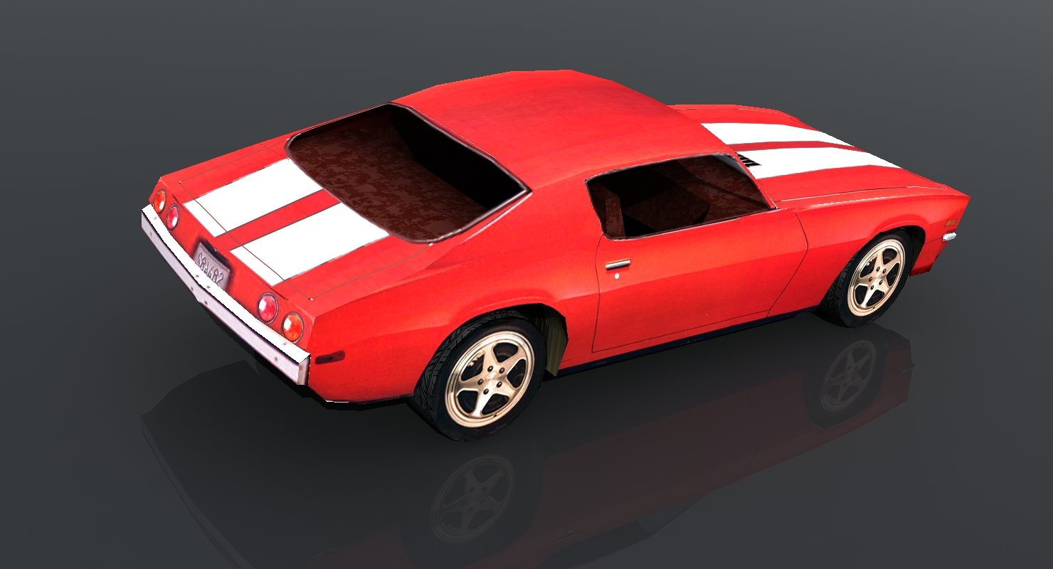1971 Chevrolet Camaro - WireCASE