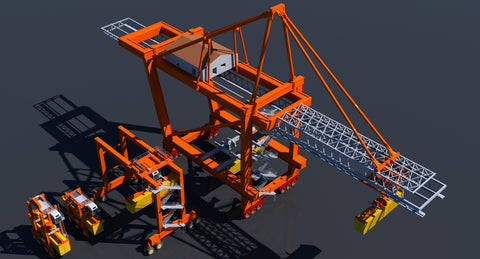 Cargo Crane Collection - WireCASE