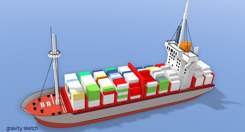 Cargo Vessel - WireCASE