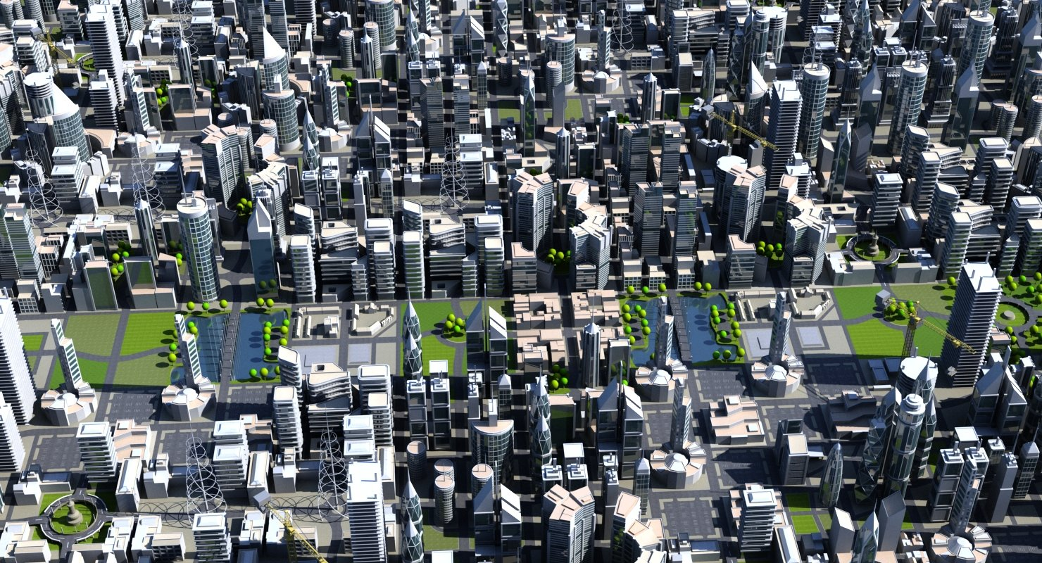 City Builder 1 Tileable - WireCASE
