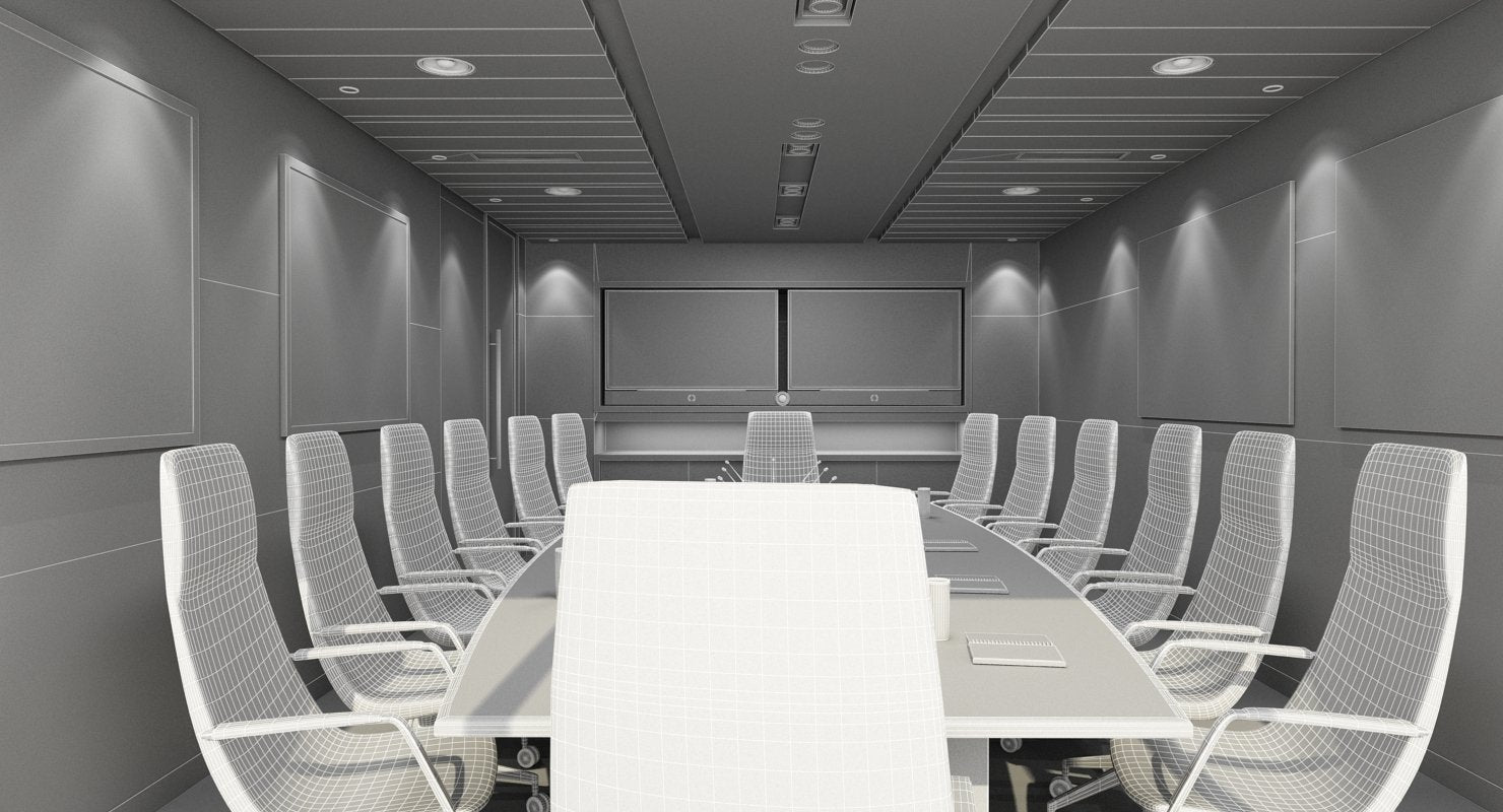 Conference Room 8 3D Model - WireCASE
