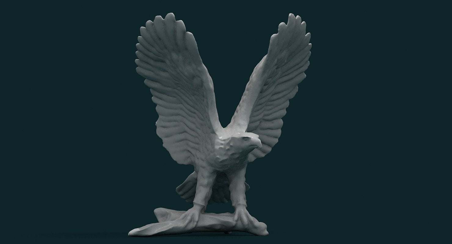 Eagle Figurine - WireCASE