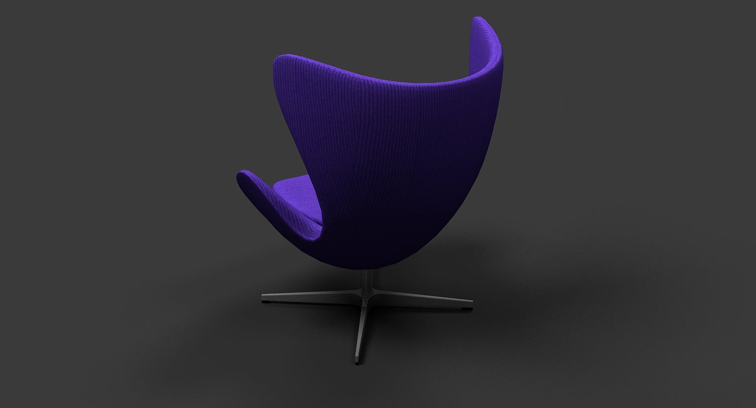 Arne Jacobsen Egg Chair - WireCASE