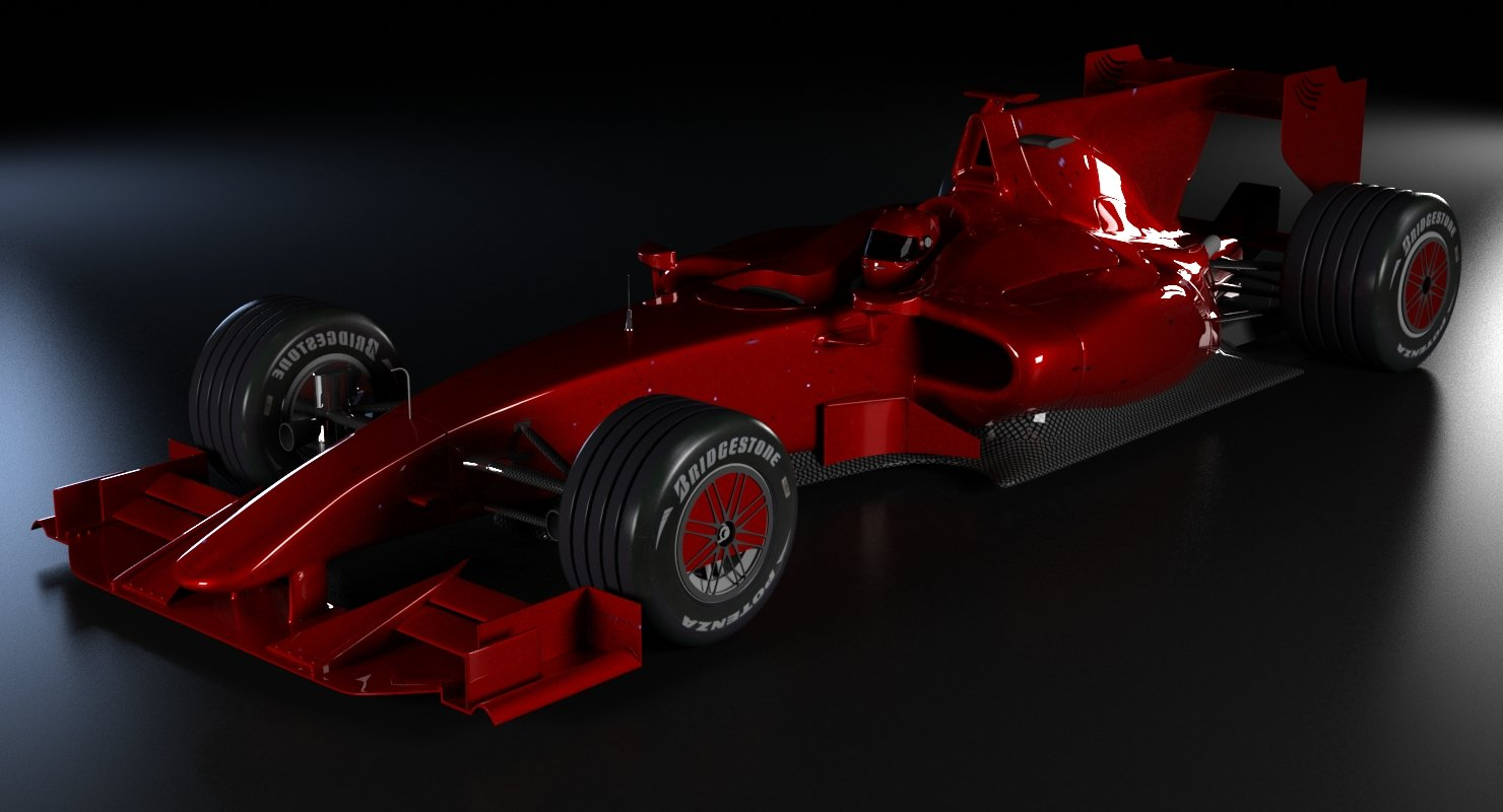 Generic Formula 1 Car - WireCASE