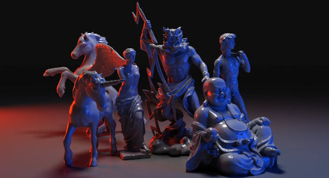 Famous Sculptures collection - WireCASE
