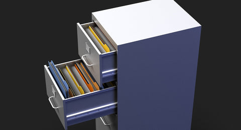 3D Filing Cabinet - WireCASE