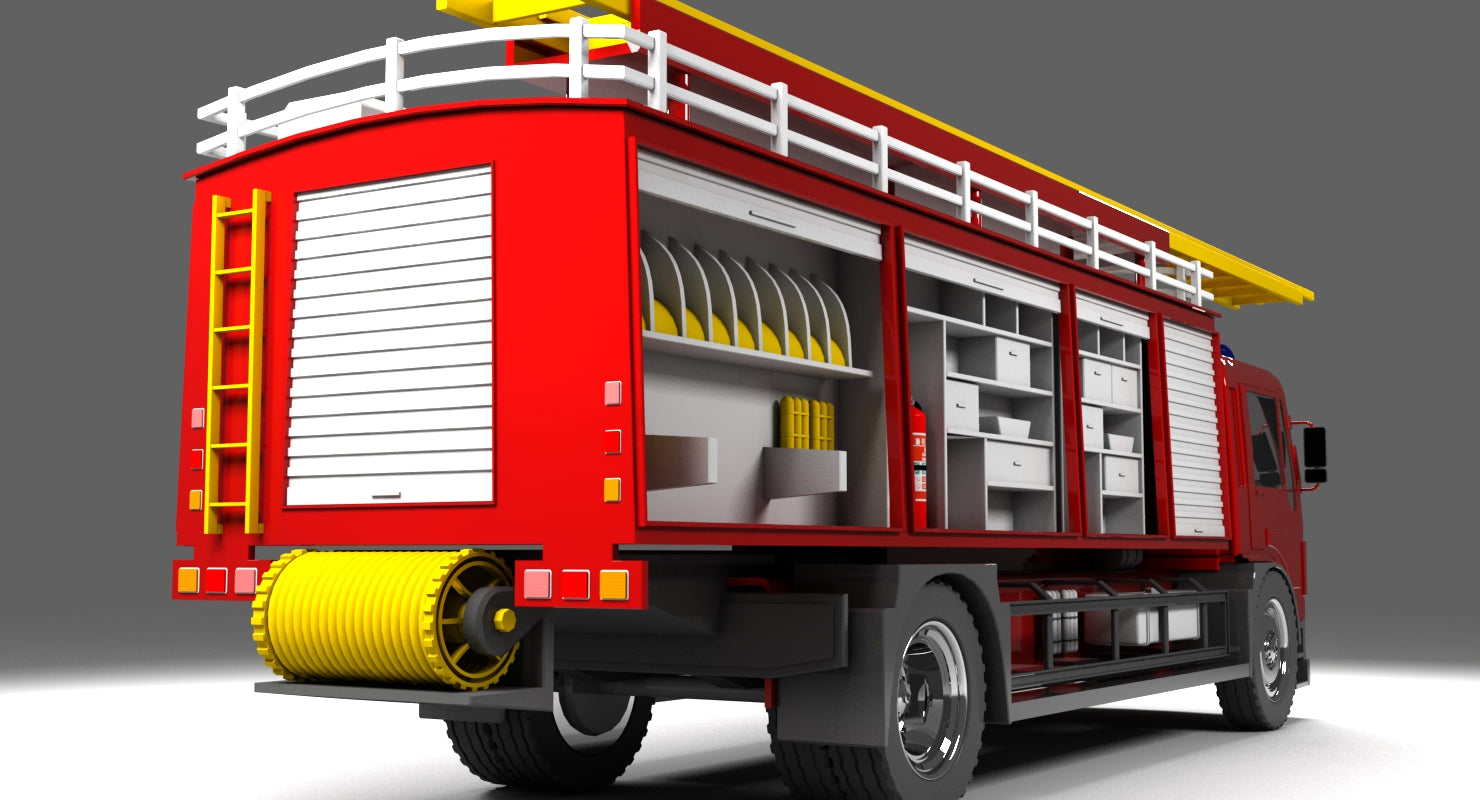 HGV Fire Truck - WireCASE