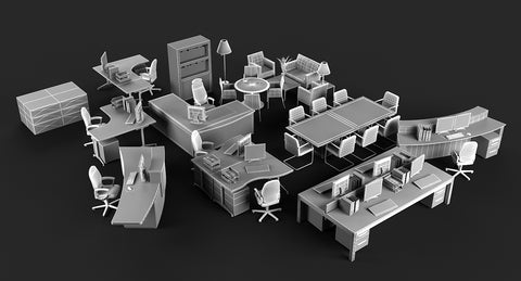 Office Furniture 2 - WireCASE