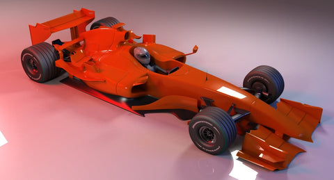 Generic Formula 1 Racing Car - WireCASE