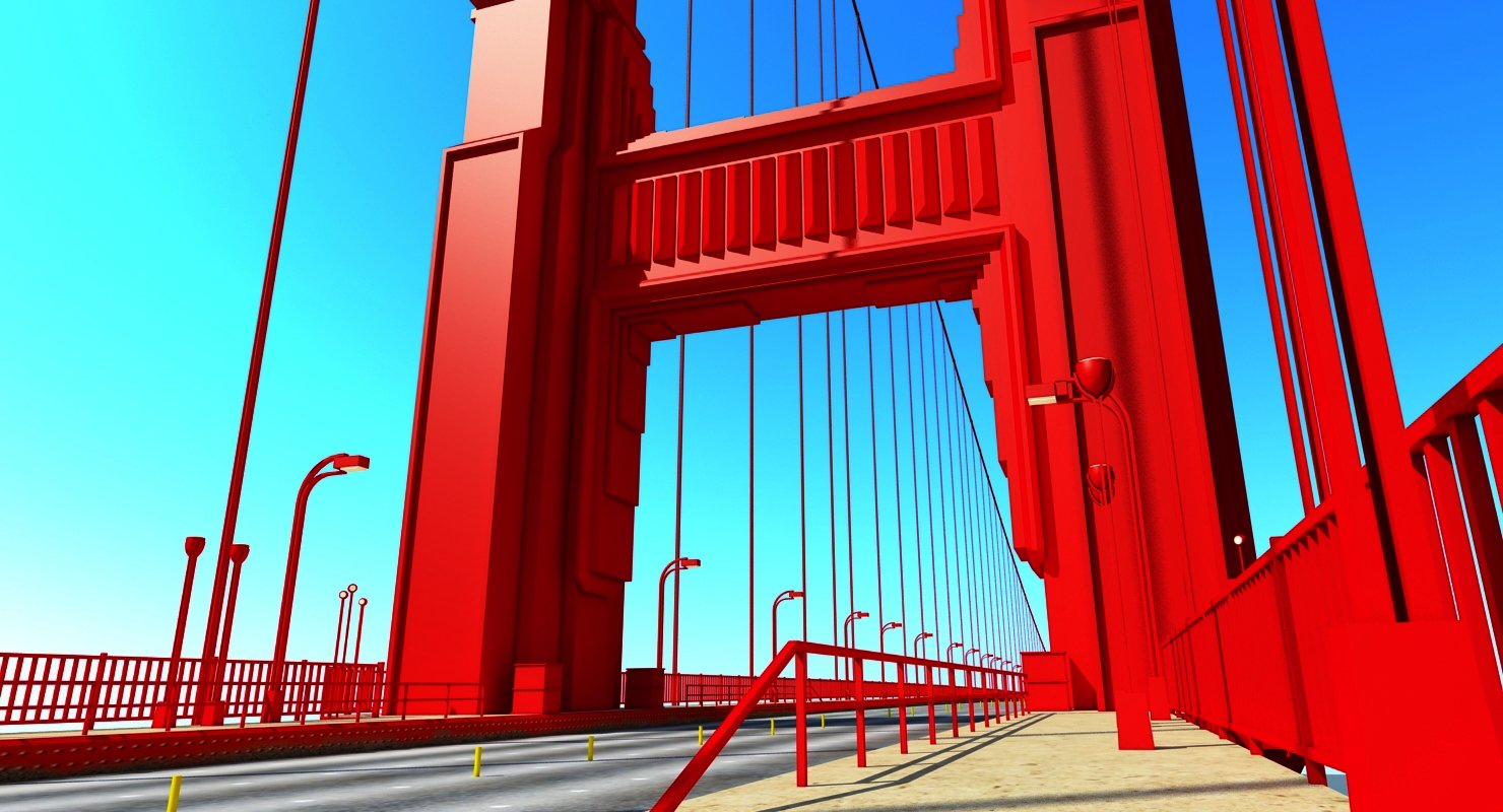Golden Gate Bridge - WireCASE