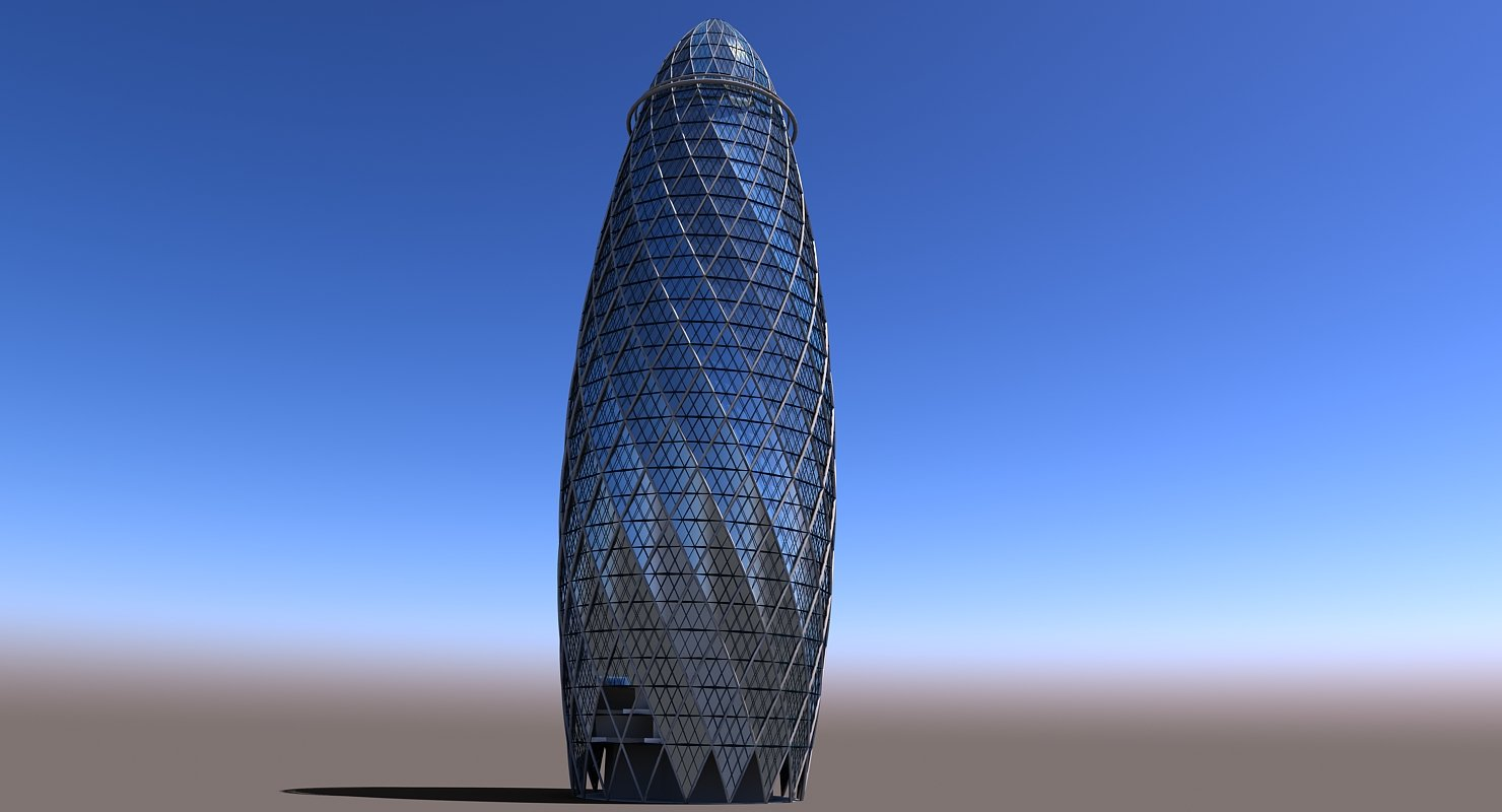 Gherkin Building - WireCASE