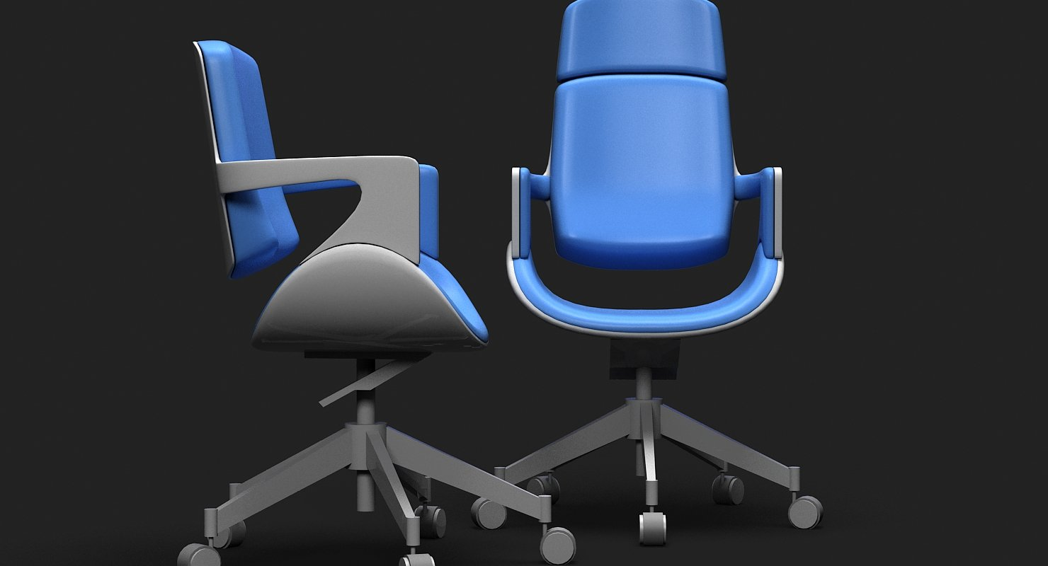 Hadi Teherani Task Chair - WireCASE