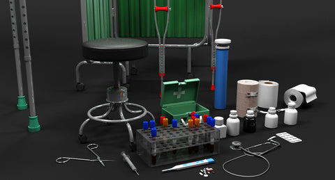 3D Medical Collection 1 - WireCASE