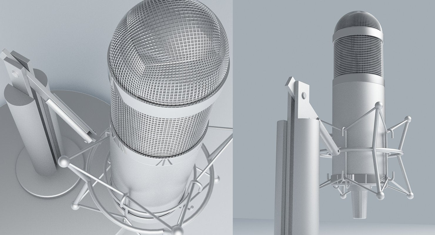 Free Retro Recording Mic - WireCASE