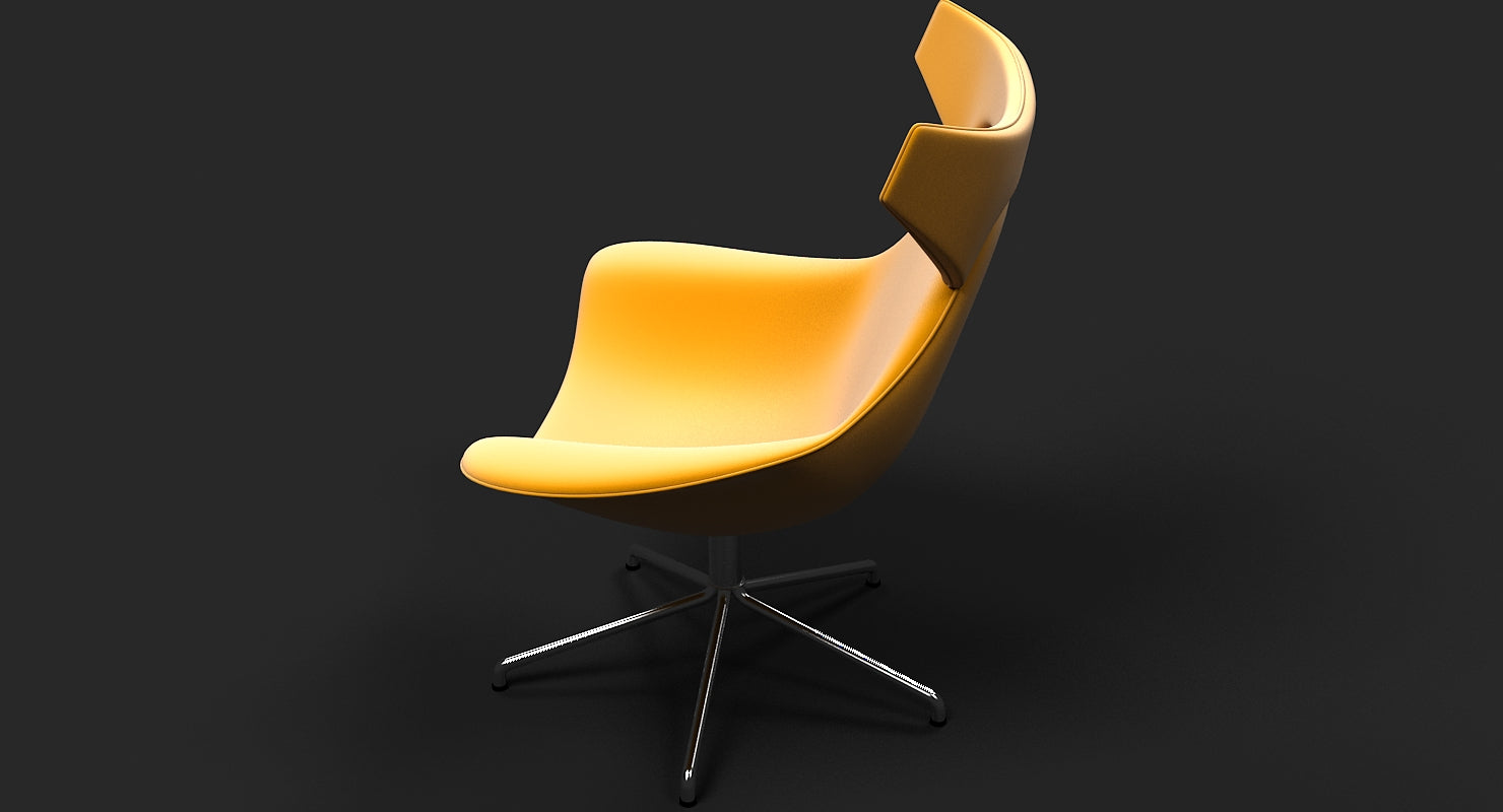 OFFECCT Lounge Chair - WireCASE