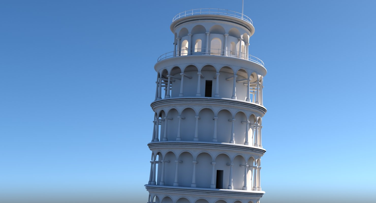 Leaning Tower Of Pisa - WireCASE