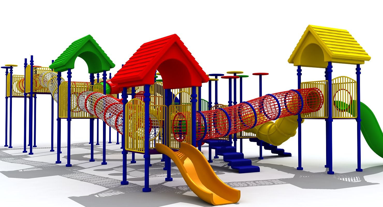 3D Play Ground Furniture - WireCASE
