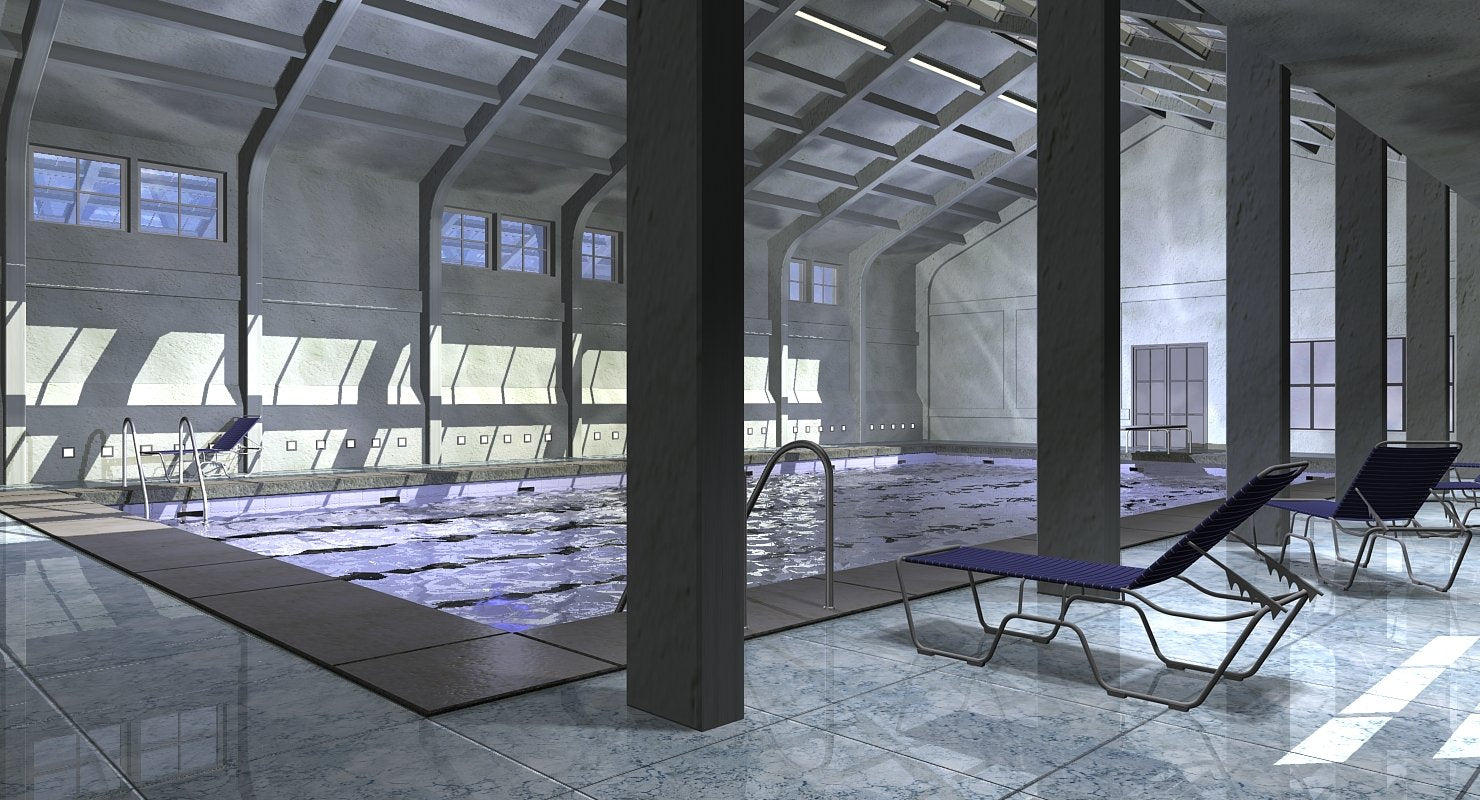 3D Indoor Pool FREE - WireCASE