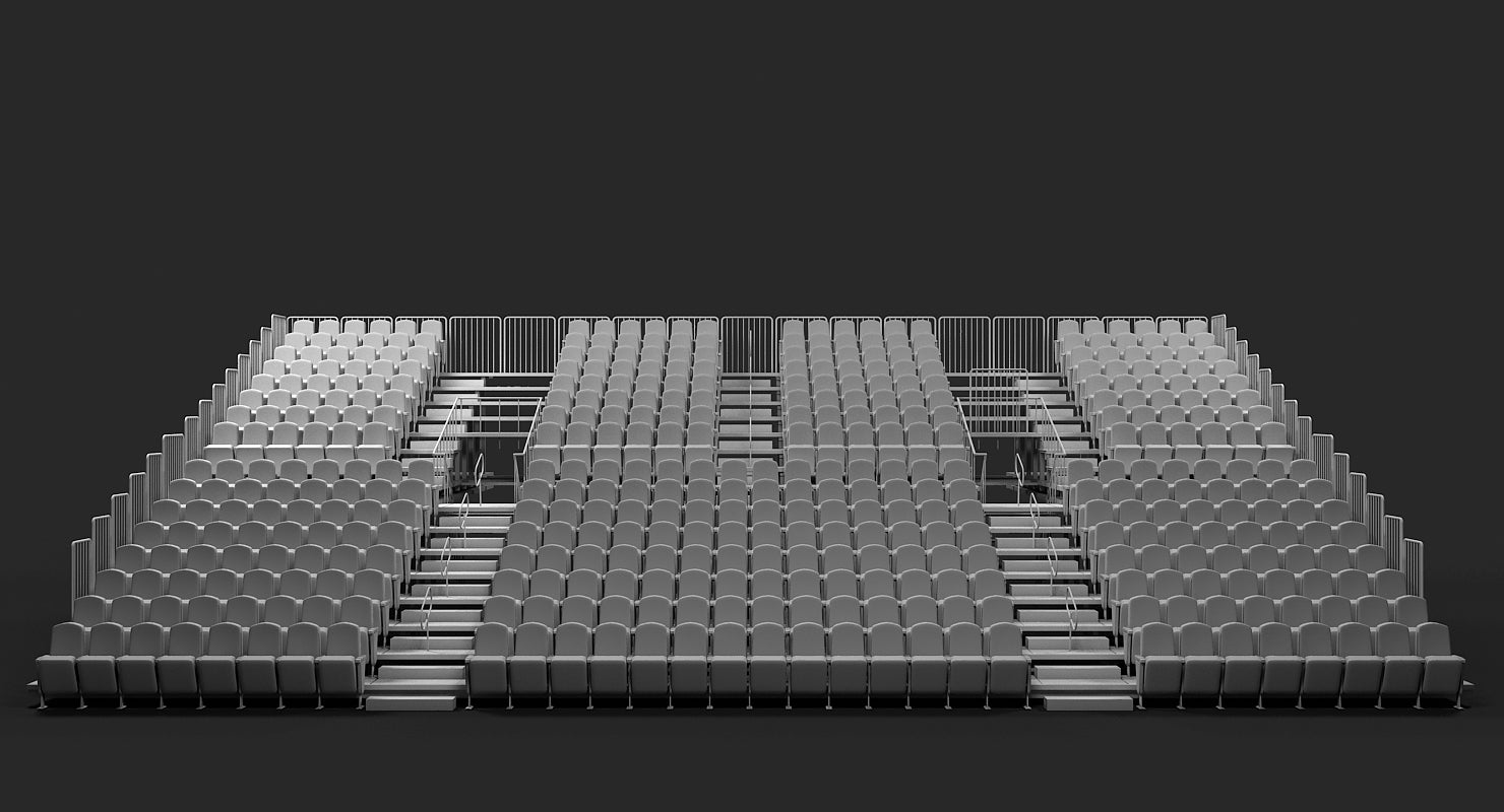 Theatre raked seating