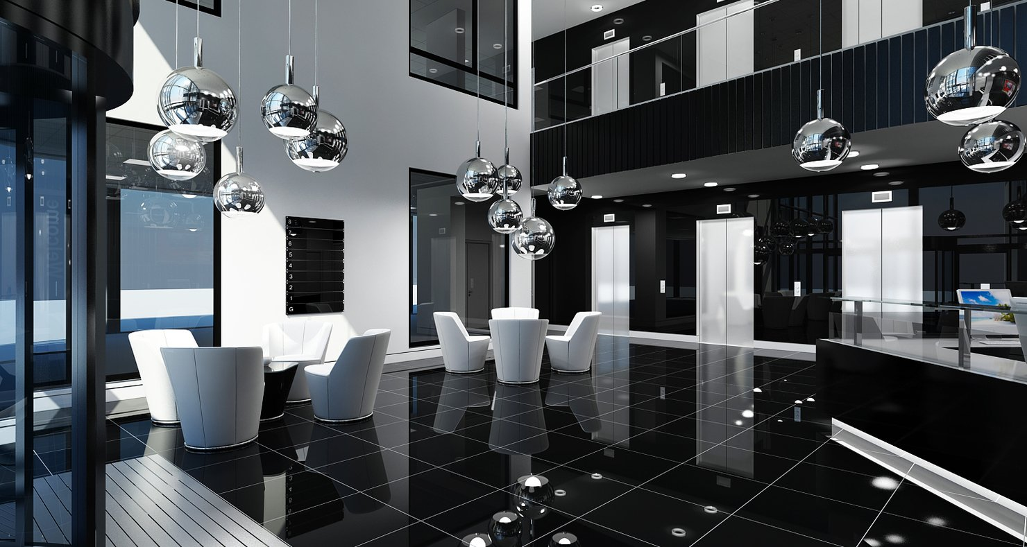 Office Interior Reception - WireCASE