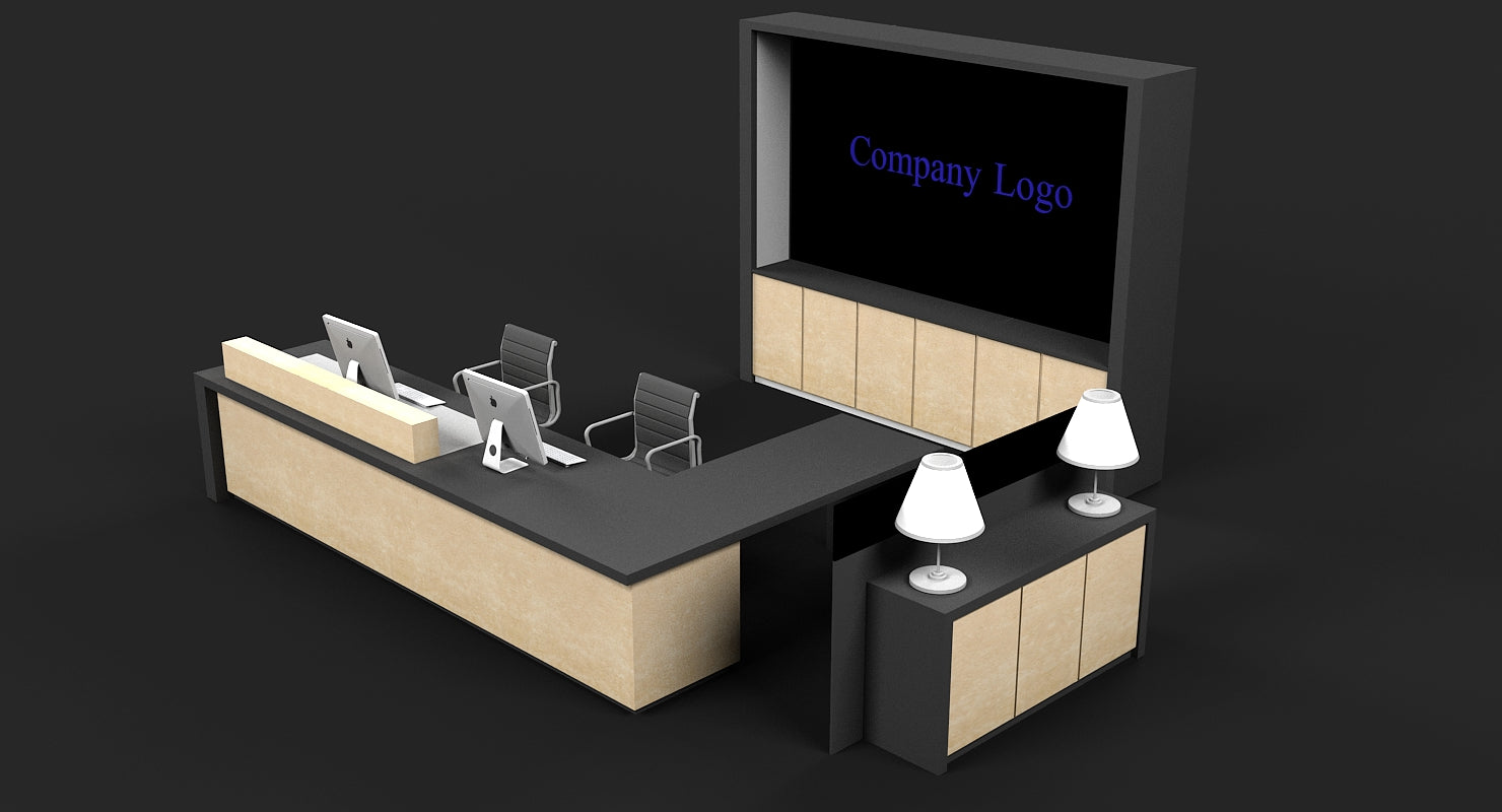 Reception Desk - WireCASE