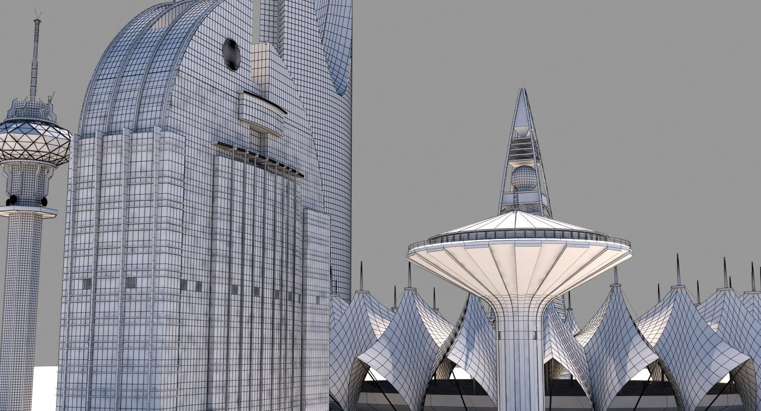 Riyadh Skyscrapers - WireCASE
