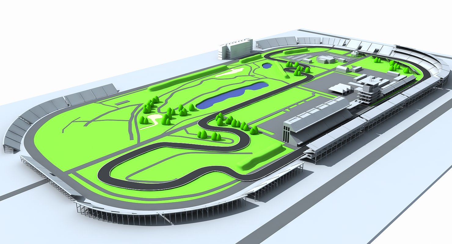 Indianapolis Motor Speed Way Map - WireCASE