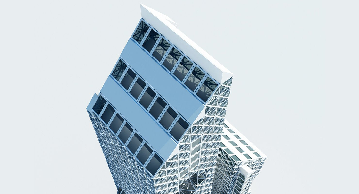 Office Building Tower - WireCASE