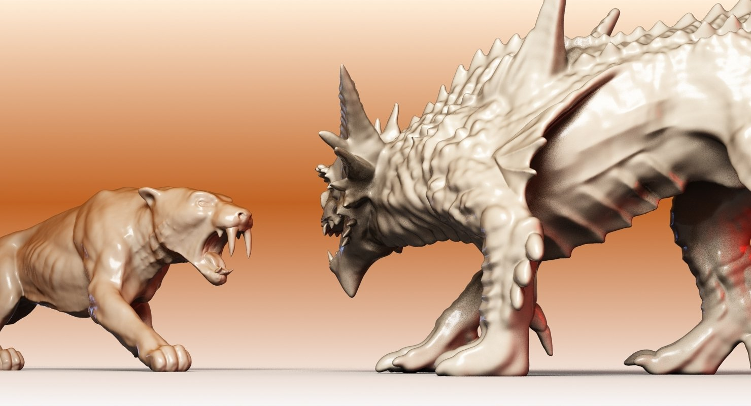 Sabre Tooth And Dragon - WireCASE