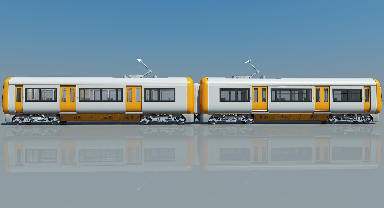 3D Train 05 - WireCASE