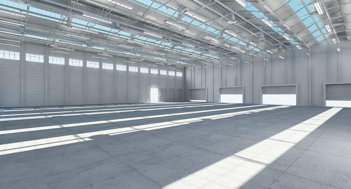 Warehouse 3d Model - WireCASE