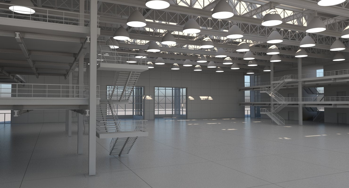 Warehouse Interior - WireCASE