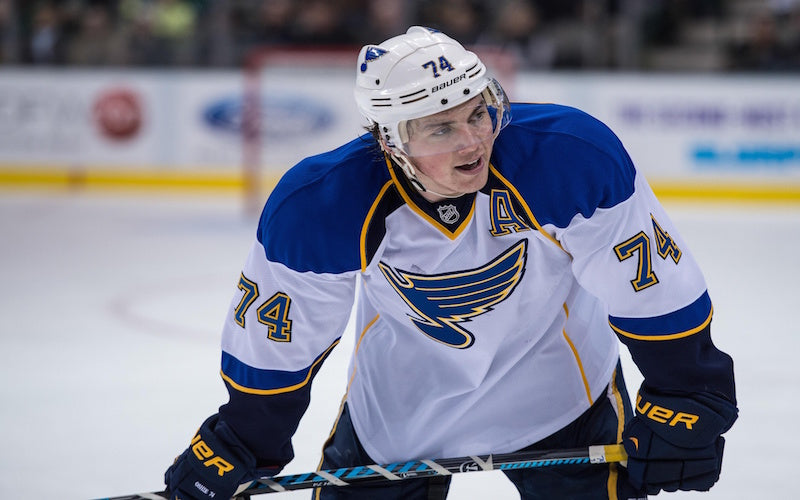 T.J Oshie Strong Through Dad's Battle With Alzheimer's - Purple Elephant