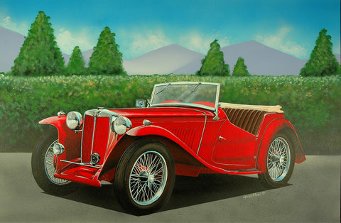 1948 MG-TC Roadster