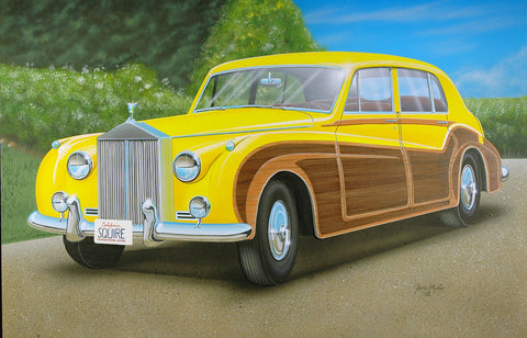 "Rolls Royce Custom ""Woody"""